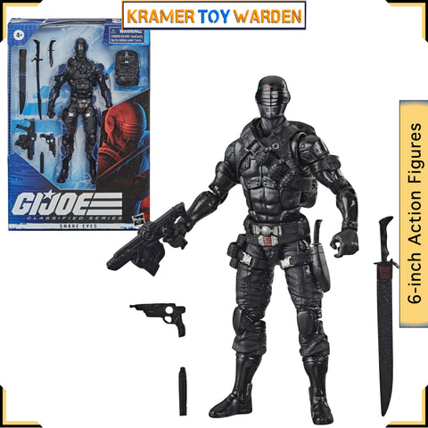G.I. Joe Classified SNAKEYES Series 6-Inch Action Figure