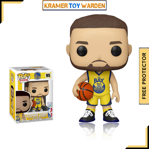 NBA Golden State Warriors Steph Curry (Alternate) Pop! Vinyl Figure # 95