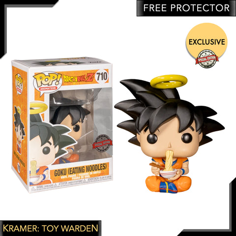 Dragon Ball Z - Goku Eating Noodles Pop! Vinyl Figure Exclusive