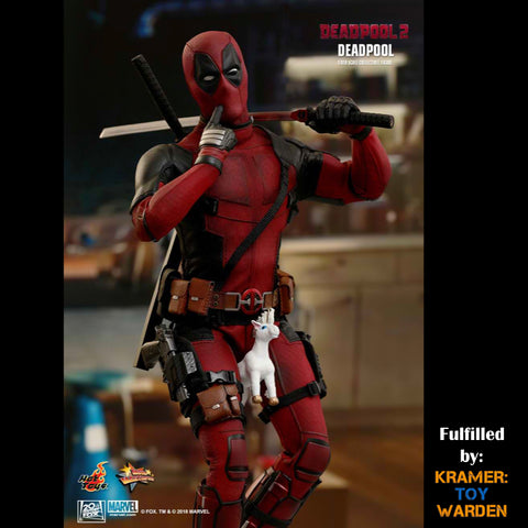 Hot Toys DEADPOOL 1/6th Scale Collectible Figure MMS490 - Sealed