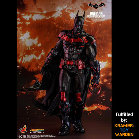Hot Toys Batman Arkham Knight BATMAN FUTURA KNIGHT Version EXCLUSIVE 1/6th Scale Collectible Figure VGM29 - Sealed