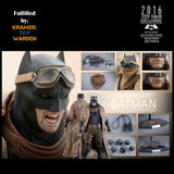 Hot Toys BvS KNIGHTMARE BATMAN 2016 Toy Fair EXCLUSIVE 1/6th Scale Collectible Figure MMS372- MINT