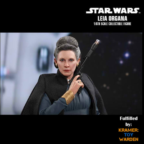 Hot Toys LEIA ORGANA Star Wars: The Last Jedi  1/6th Scale Collectible Figure MMS459 - Sealed
