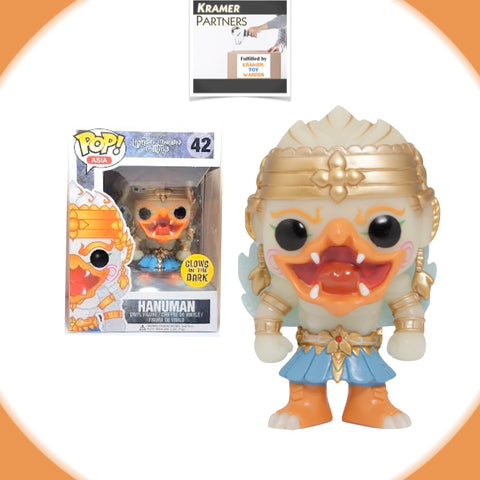Funko Pop! Asia HANUMAN Glows-in-the-Dark Exclusive Vinyl Figure #42