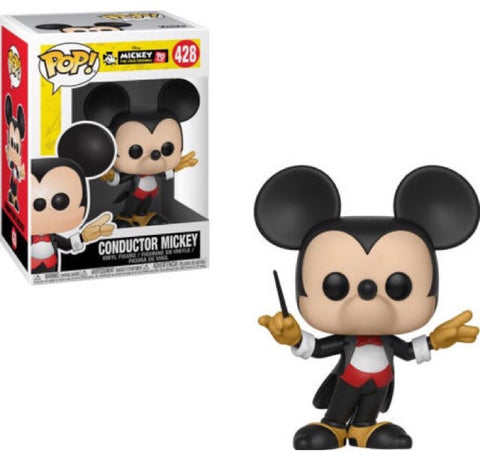 Funko Disney: Mickey's 90th - Conductor Mickey Pop! Vinyl Figure Kramer Toy Warden Greenhills, Alabang Mall, Philippines