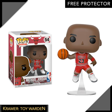 NBA Chicago Bulls Michael Jordan Pop! Vinyl Figure
