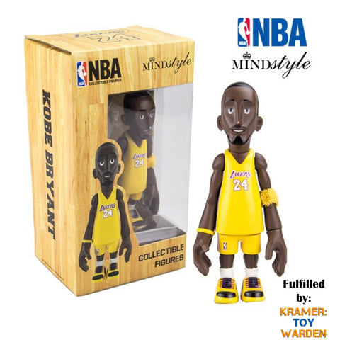 "Kobe Bryant Limited 4.5"" Collectible Figure by Mindstyle (Gold #24 Jersey Edition)"