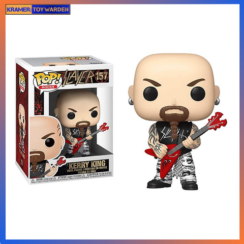 Slayer Kerry King Vinyl Figure