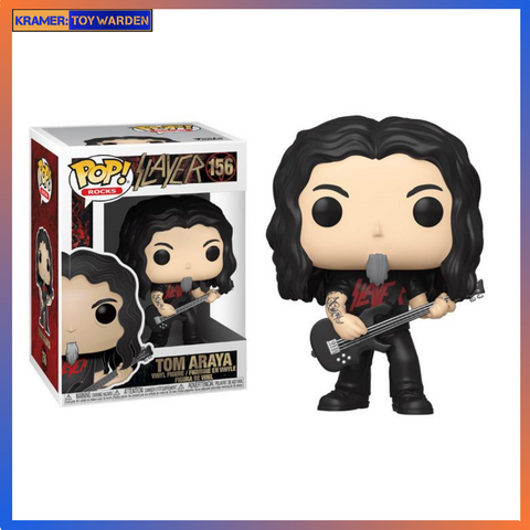 Slayer Tom Araya Vinyl Figure