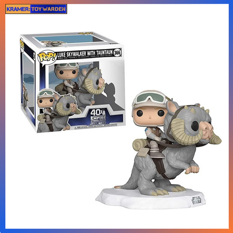 Star Wars: Empire Strikes Back Luke on Taun Taun Deluxe Pop! Vinyl Figure