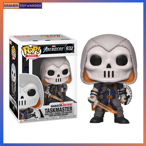 Marvel's Avengers Game Taskmaster Pop! Vinyl Figure