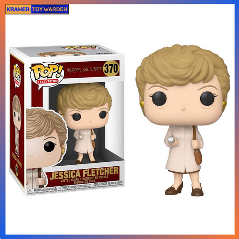 Murder She Wrote: Jessica Fletcher with Trenchcoat Pop! Vinyl Figure