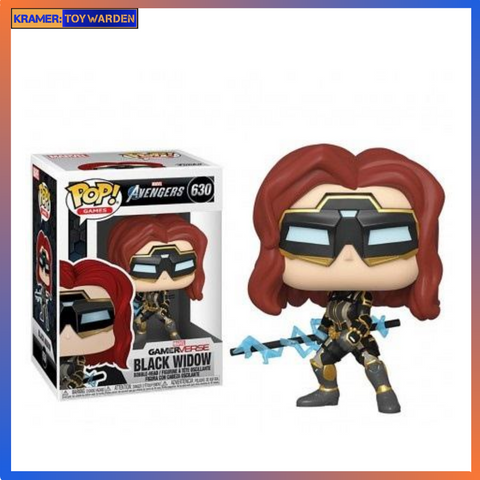 Marvel's Avengers Game Black Widow (Stark Tech Suit) Pop! Vinyl Figure