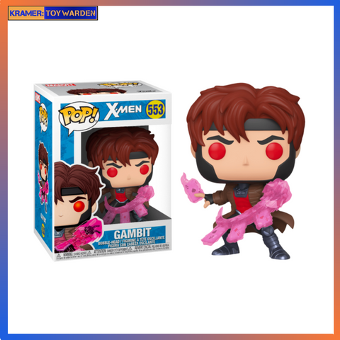 X-Men Gambit with Cards Pop! Vinyl Figure
