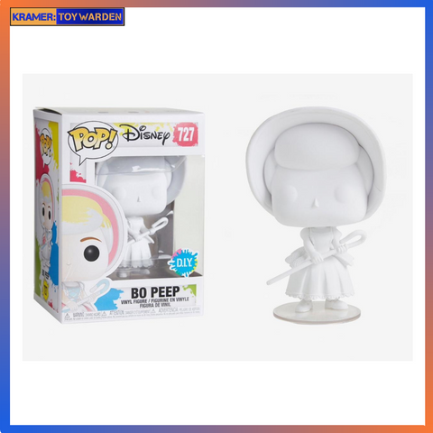 Toy Story Bo Peep DIY White Pop! Vinyl Figure