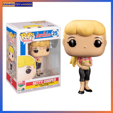 Archie Comics Betty Pop! Vinyl Figure
