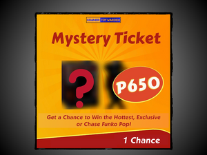 Mystery Funko Pop! Ticket