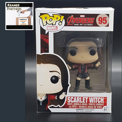 Avengers 2 SCARLET WITCH #95 Funko Pop! Vinyl Figure with box damage