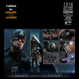 Hot Toys CAPTAIN AMERICA (Concept Art)  Marvel Studios EXCLUSIVE  1/6th Scale Collectible Figure MMS488 - Sealed
