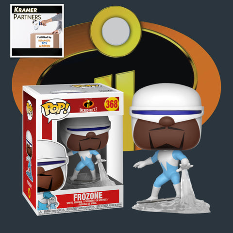 Incredibles 2 FROZONE # 368 Funko Pop! Vinyl Figure