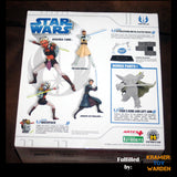 Kotobukiya ArtFx+: Star Wars Clone Wars Series 1: Jedi Statues Set of 3 with BAF Yoda