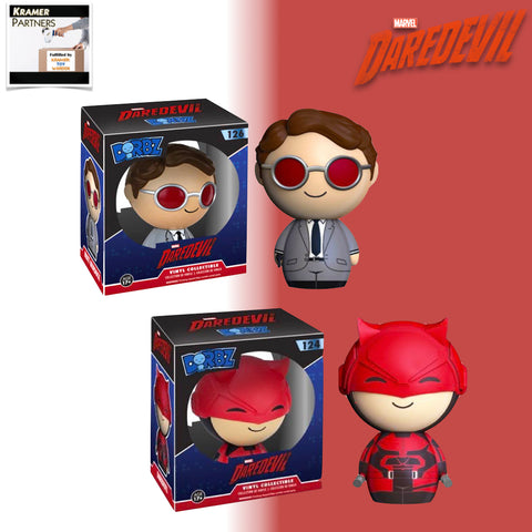 Funko Dorbz Set of 2 DAREDEVIL vinyl Figures
