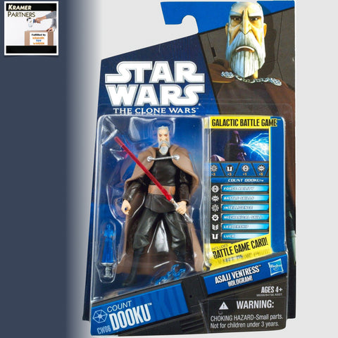 "Star Wars The Clone Wars COUNT DOOKU 3.75"" Action Figure - CW06"