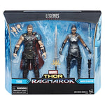 Marvel Legends Thor Ragnarok Thor and Marvel's Valkyrie 2-pack Exclusive