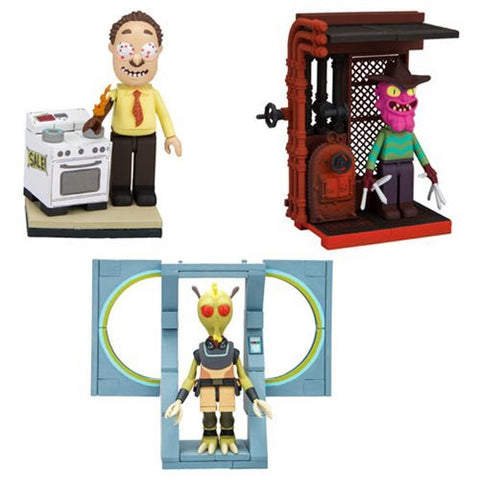 Rick and Morty Micro Construction Assorted Single