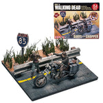 The Walking Dead Daryl with Chopper Mini-Figure Building Set