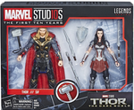 Marvel Legends MCU 10th Anniversary Thor & Sif Action Figure 2-Pack