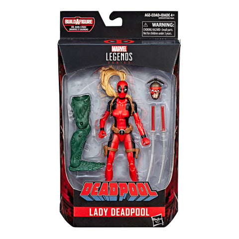 Marvel Legends Deadpool Series 2 Lady Deadpool Action Figure