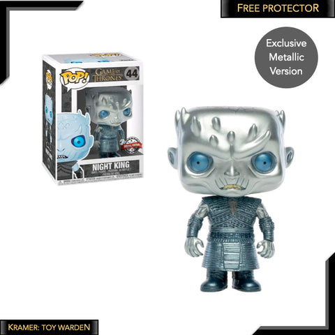 Game of Thrones Night King Metallic Pop! Vinyl Figure Exclusive