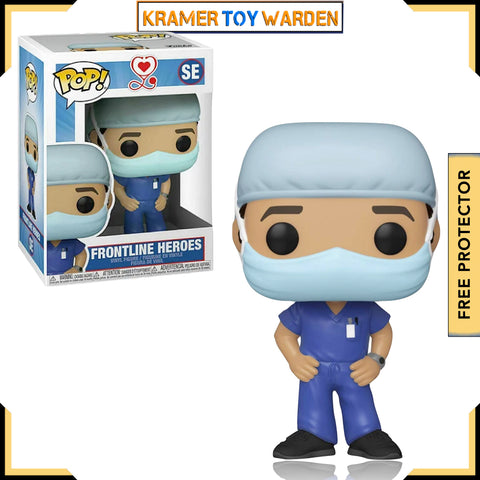 Front Line Worker Male Hospital Worker #1 Pop! Vinyl Figure
