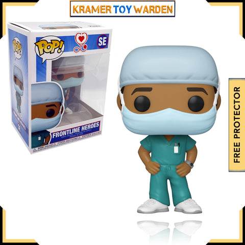 Front Line Worker Male Hospital Worker #2 Pop! Vinyl Figure