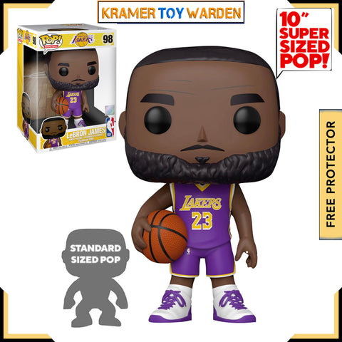 NBA Lakers LeBron James (Purple Jersey) 10-Inch Pop! Vinyl Figure # 98