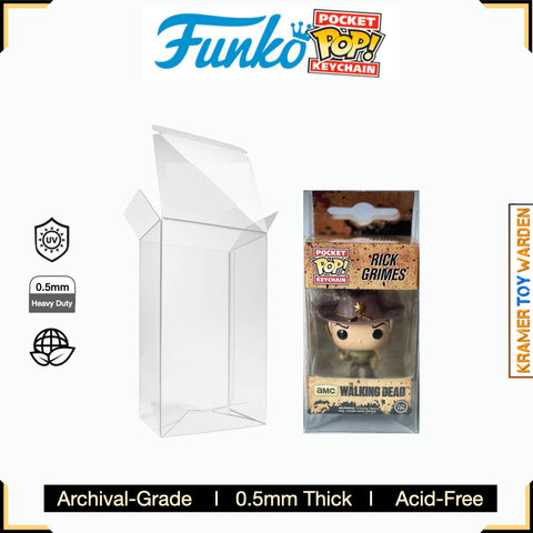 Funko Pop! Protector Pro 0.5mm for Pocket Pop! Keychains