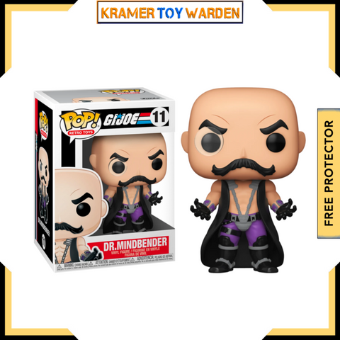 G.I. Joe Dr. Mindbender Funko Pop! #11