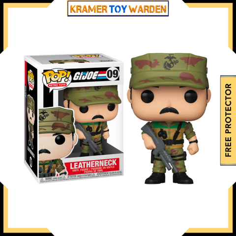 G.I. Joe Leatherneck Funko Pop! #9