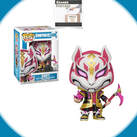 Funko Pop! Fortnite DRIFT #466 Vinyl Figure