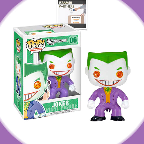 Funko Pop! DC Universe THE JOKER Vinyl Figure #06