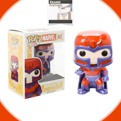 Funko Pop! X-Men MAGNETO  #62 Vinyl Figure