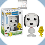 Funko Pop! Peanuts SNOOPY with WOODSTOCK Vinyl Figure #49