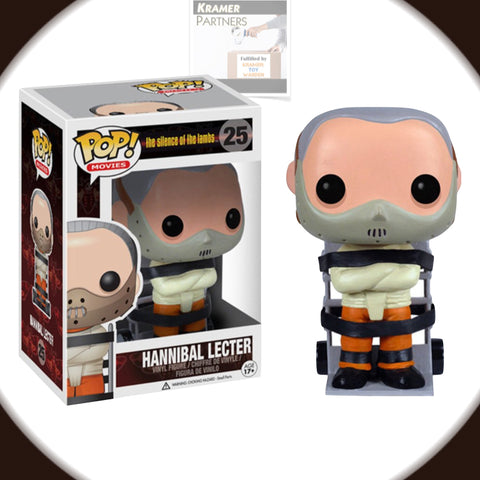 Funko Pop! Silence of the Lambs HANNIBAL LECTER Vinyl Figure #25