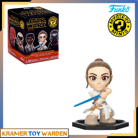 Mystery Minis Star Wars Rise of Skywalker - REY vinyl figure