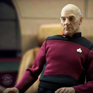 Star Trek: TNG Captain Jean-Luc Picard 1:6th Scale Figure - Regular Version