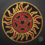 "Supernatural Anti-Possession Symbol 24"" Doormat"