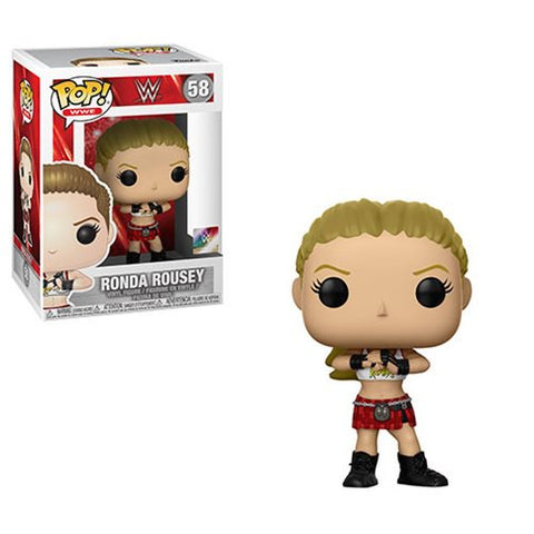Funko WWE Ronda Rousey Pop! Vinyl Figure #58 Kramer Toy Warden Greenhills, Alabang Mall, Philippines