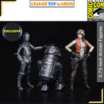 "Star Wars The Vintage Collection 3.75"" Doctor Aphra Comic Set SDCC Exclusive"