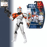 "Star Wars The Clone Wars REPUBLIC COMMANDO BOSS  3.75"" Action Figure - CW11"